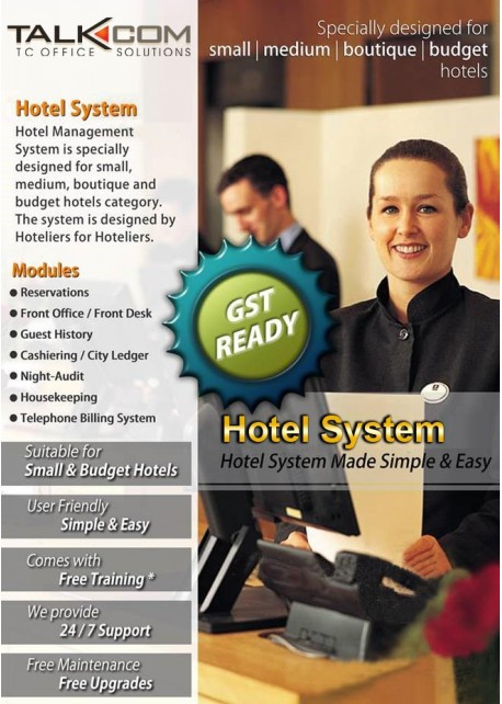 TALKCOM Hotel Management System - TC Office Solutions Sdn Bhd