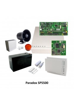PARADOX SP5500 Package
